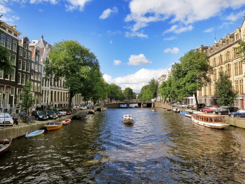 Amsterdam Canals Pictures
